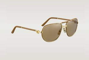 c5e3272c45aac Aperçu lunettes de soleil Cartier homme